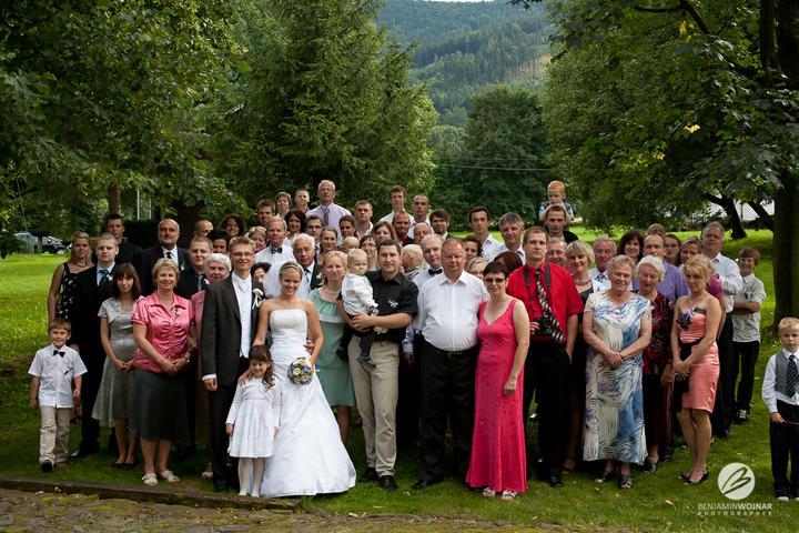 Alžběta{{_AND_}}Jakub - Všichni svatebčané