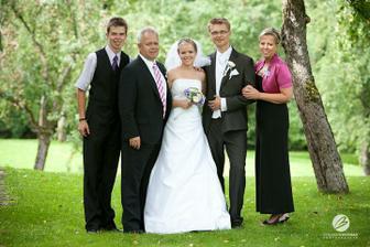 S rodiči a bráchou