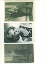 Fotografie ze svatby prarodičů, atd.