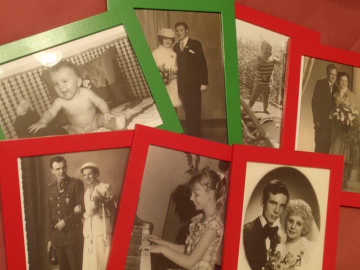 Co už mám - Fotky rodiny a nás z minulosti.