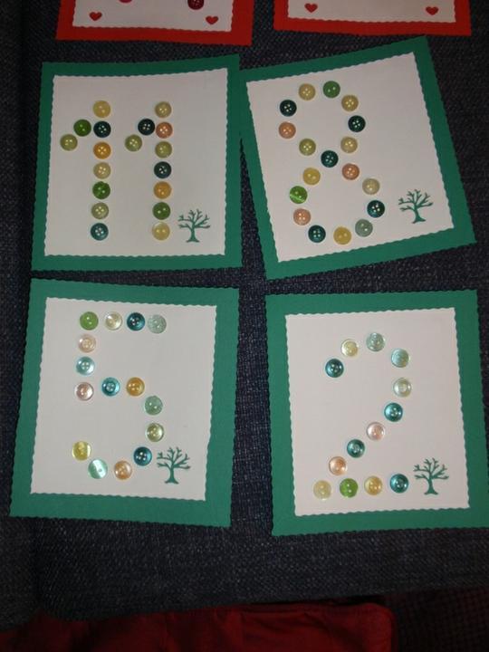 Co už mám - Zelená čísla se stromy