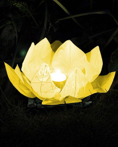 Co už mám - Druhý typ lampionu přání - pouštět budeme na hladinu rybníka.