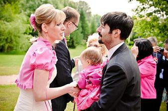 Blahopřání - skoro všichni v růžovém :-)