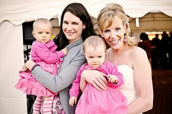 S Janičkou a jejími dvojčátky - Lindou a Sofií.