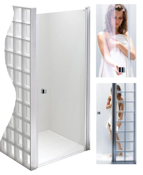 Inšpirácie do novej kúpelky - Takto nejak bude vypadať kút so sklobetonom