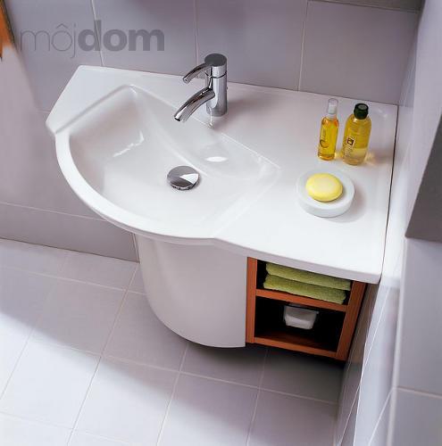 Inšpirácie do novej kúpelky - Takéto by vyhovovalo do rohu, ale asi je megadrahé :-)