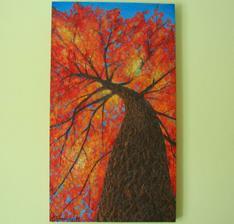 Jesenný strom 55x95