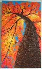 Jesenný strom II. 80x50