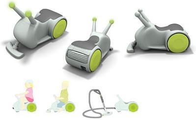 Vynálezy - vysávač aj hračka v jednom :-)