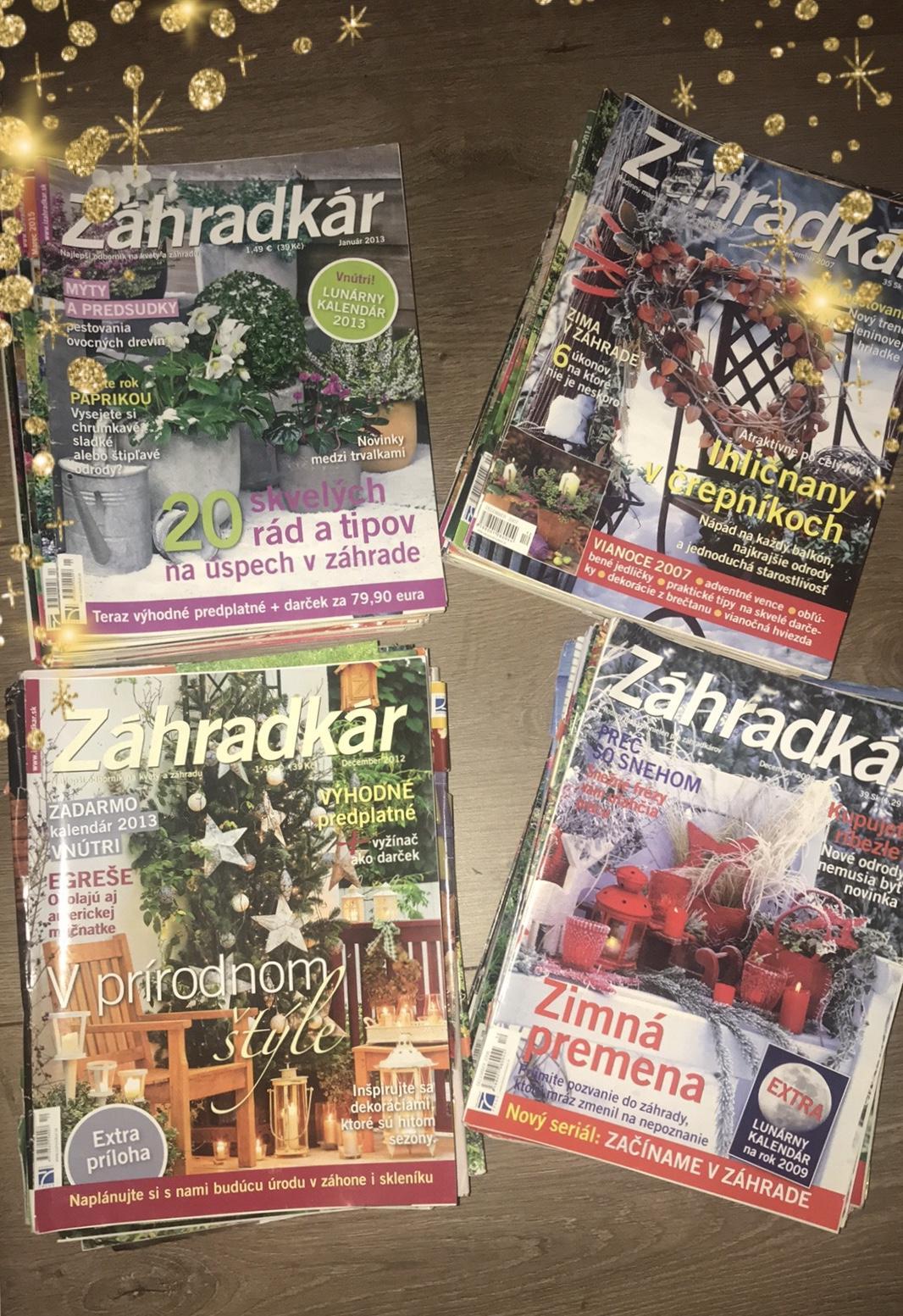 Darujem časopisy Záhradkár - Obrázok č. 1
