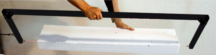 Rezačky polystyrénu 1,37 m - Obrázok č. 1