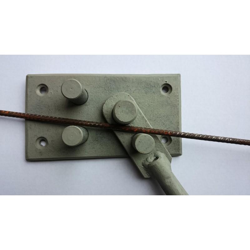 Ohýbačka ocele - výroba strmeňov na preklady - Obrázok č. 1
