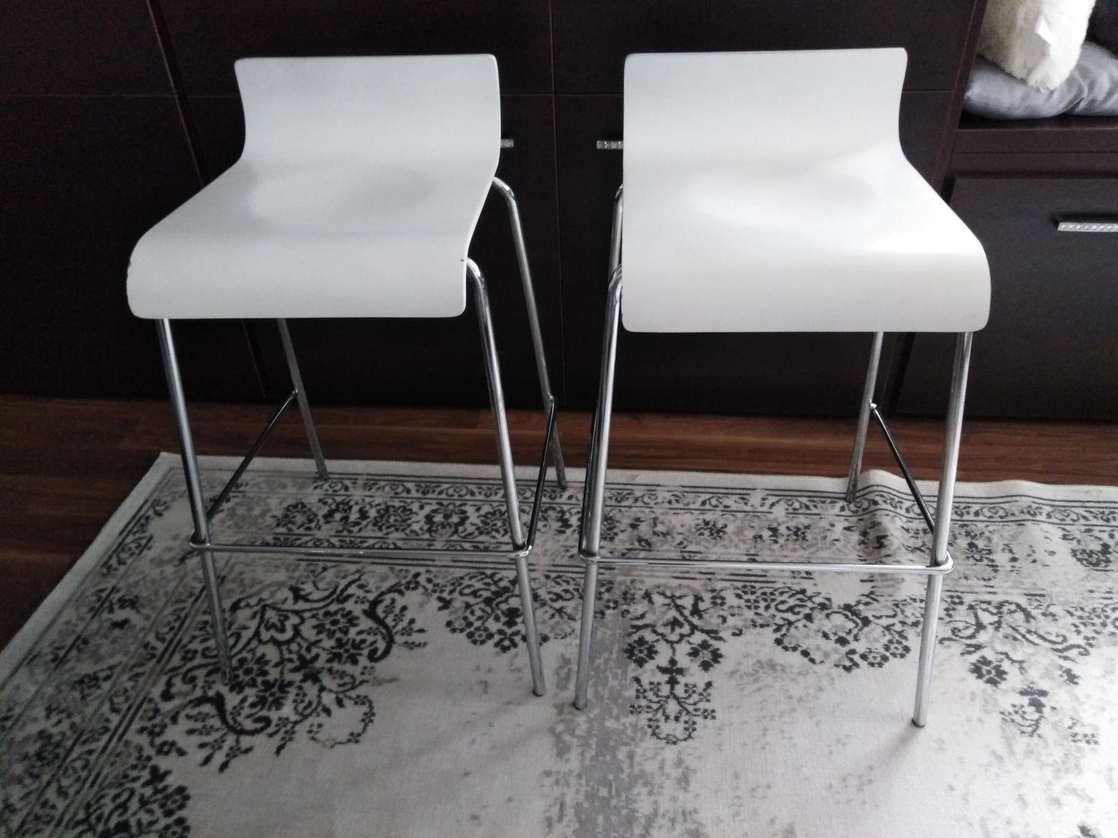 Barove stoličky 2 ks - Obrázok č. 1