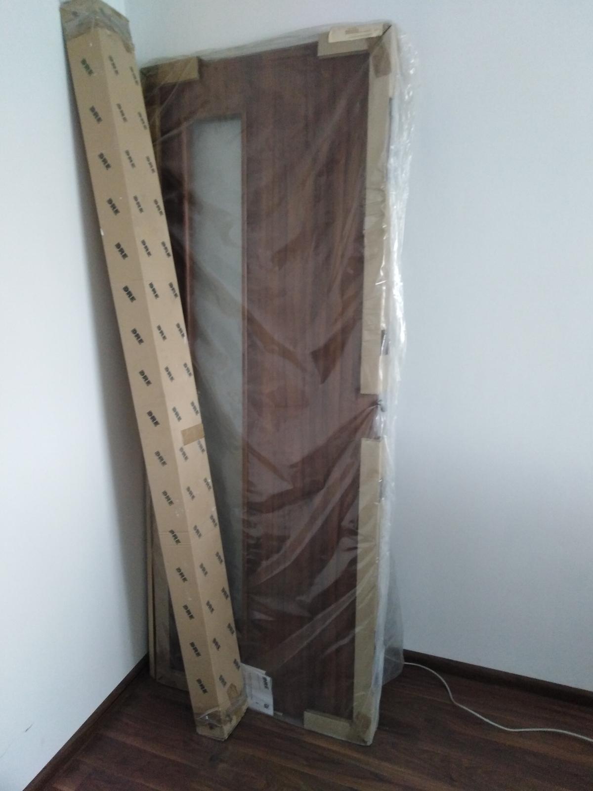 Dvere so zárubňou, 70tky - Obrázok č. 1