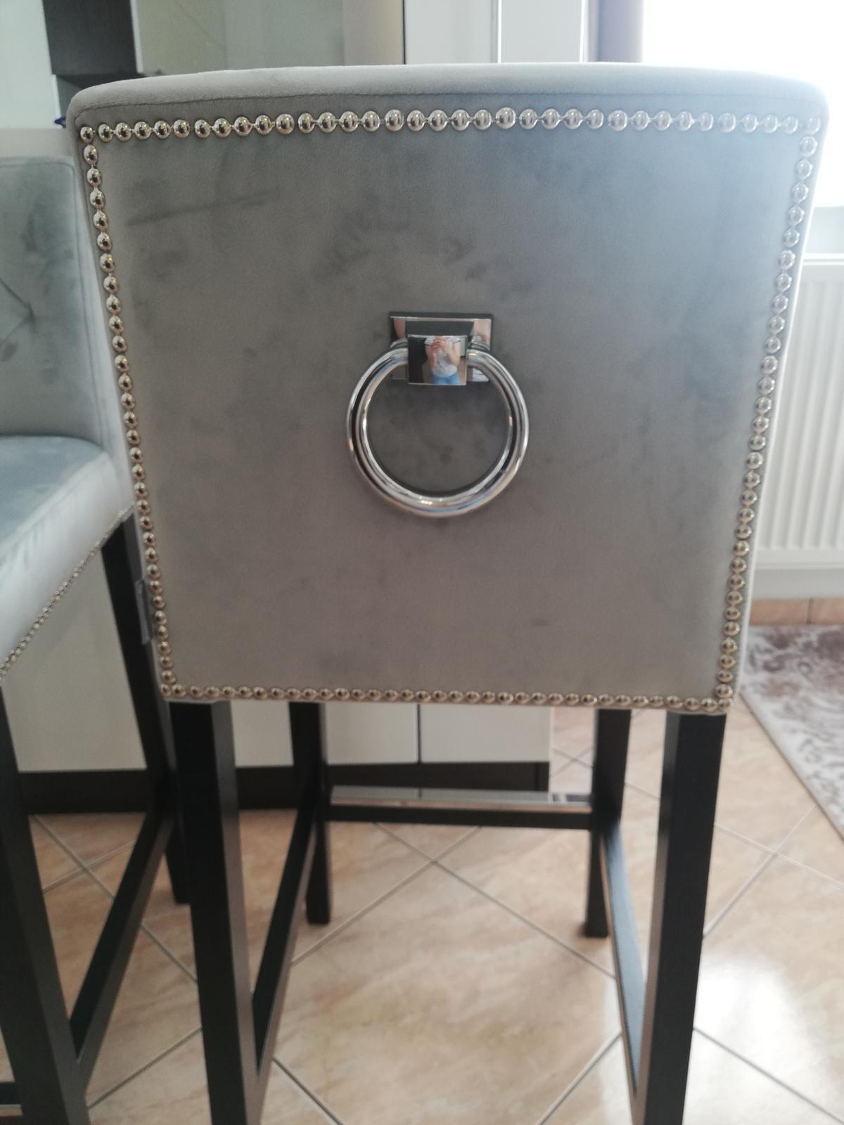 Luxusné barové stolicky - Obrázok č. 1