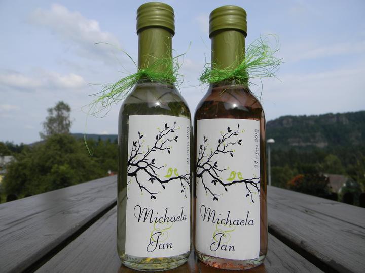 Vína, minivína, čokoládky s originální etiketou - Obrázek č. 22