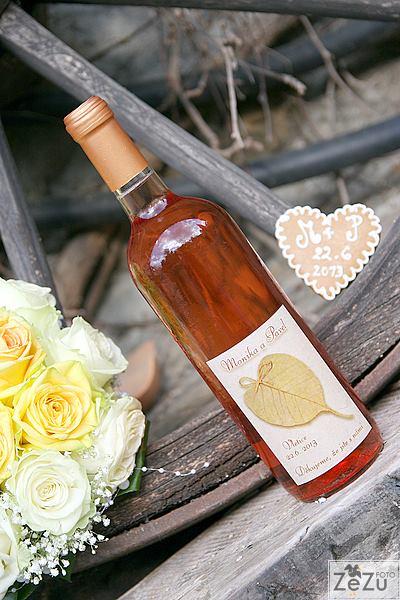 Vína, minivína, čokoládky s originální etiketou - Obrázek č. 21