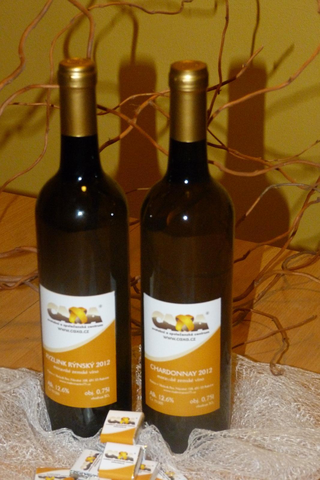 Vína, minivína, čokoládky s originální etiketou - Obrázek č. 15