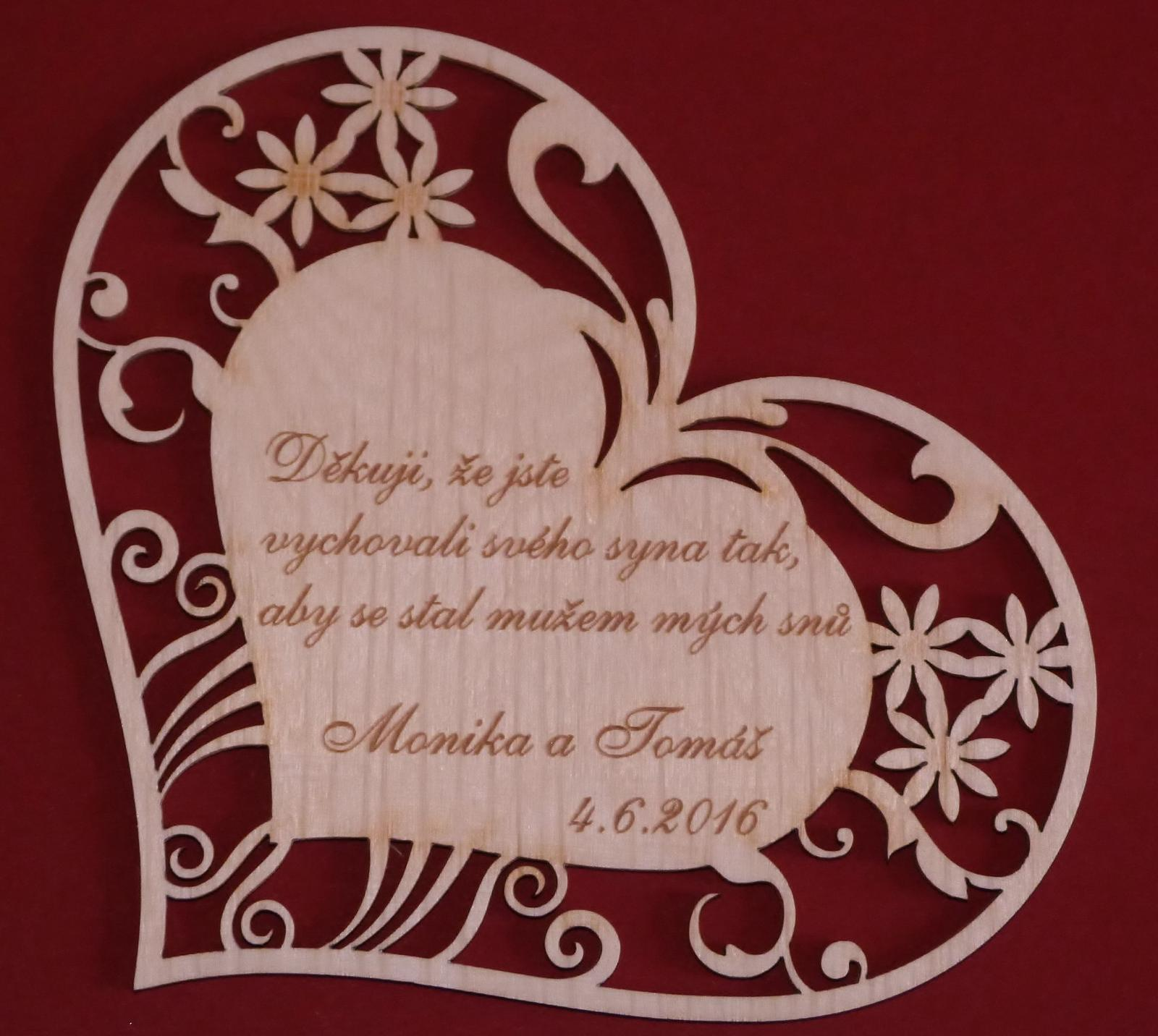 Dekorace do bytu či na svatební stůl - Vaše společné příjmení v několika variacích - Obrázek č. 8