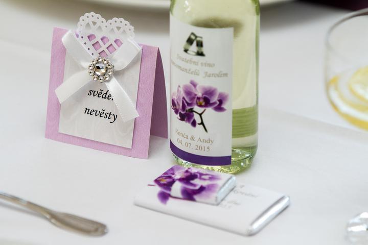 Svatební výslužka nebo dárek Vašim hostům - Obrázek č. 19