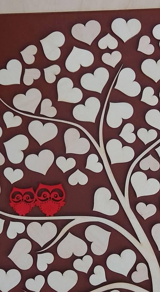Svatební kniha hostů či svatební strom - Obrázek č. 2