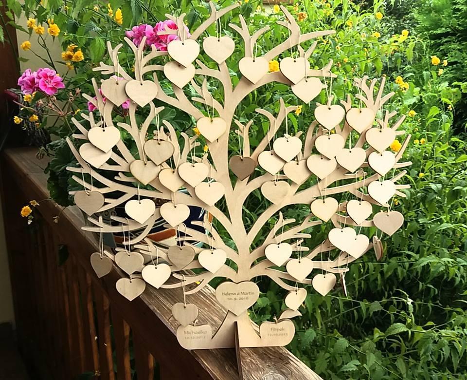 Svatební kniha hostů či svatební strom - Obrázek č. 12