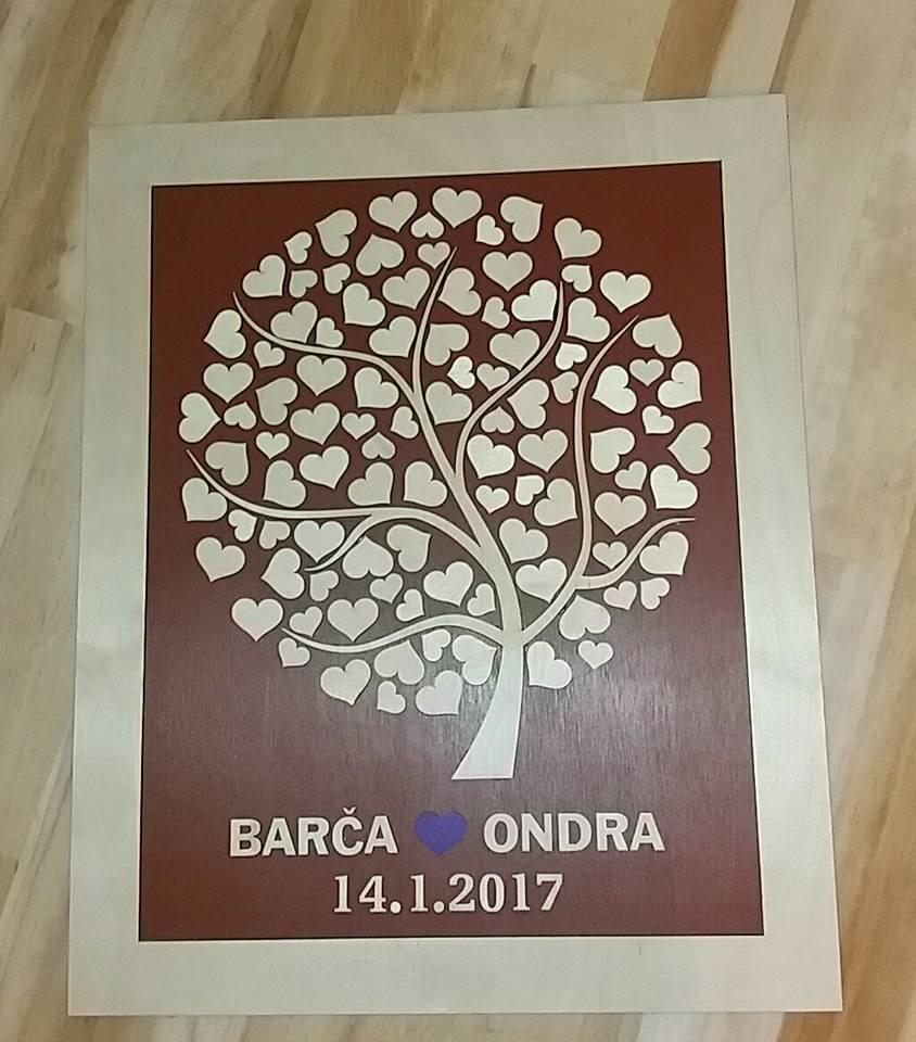 Svatební kniha hostů či svatební strom - Obrázek č. 14