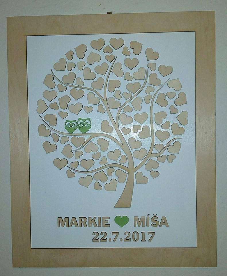 Svatební kniha hostů či svatební strom - Obrázek č. 15