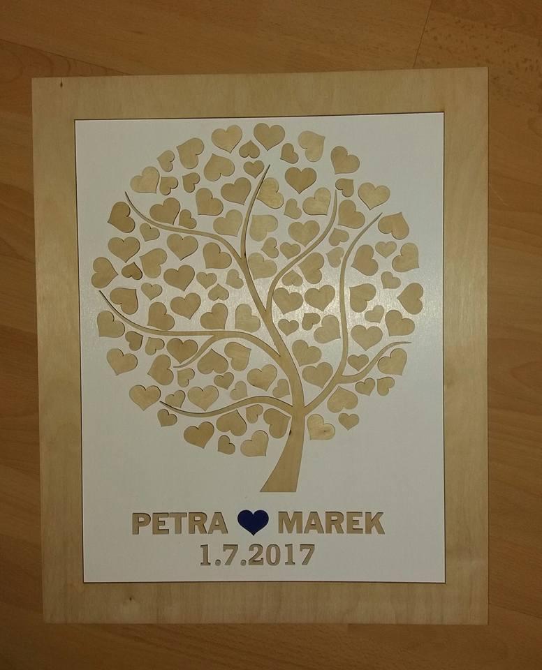 Svatební kniha hostů či svatební strom - Obrázek č. 19