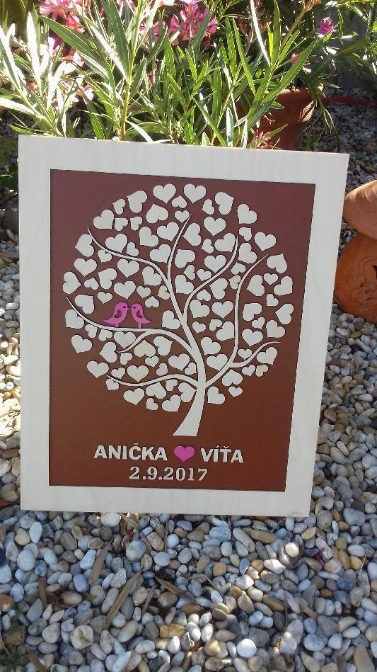 Svatební kniha hostů či svatební strom - Obrázek č. 27
