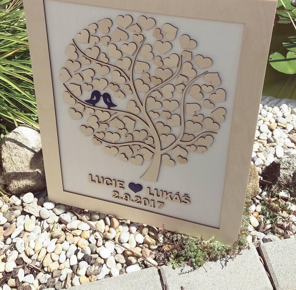 Svatební kniha hostů či svatební strom - Obrázek č. 28