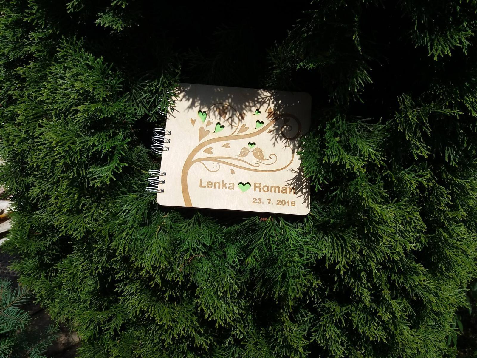 Svatební kniha hostů či svatební strom - Obrázek č. 35