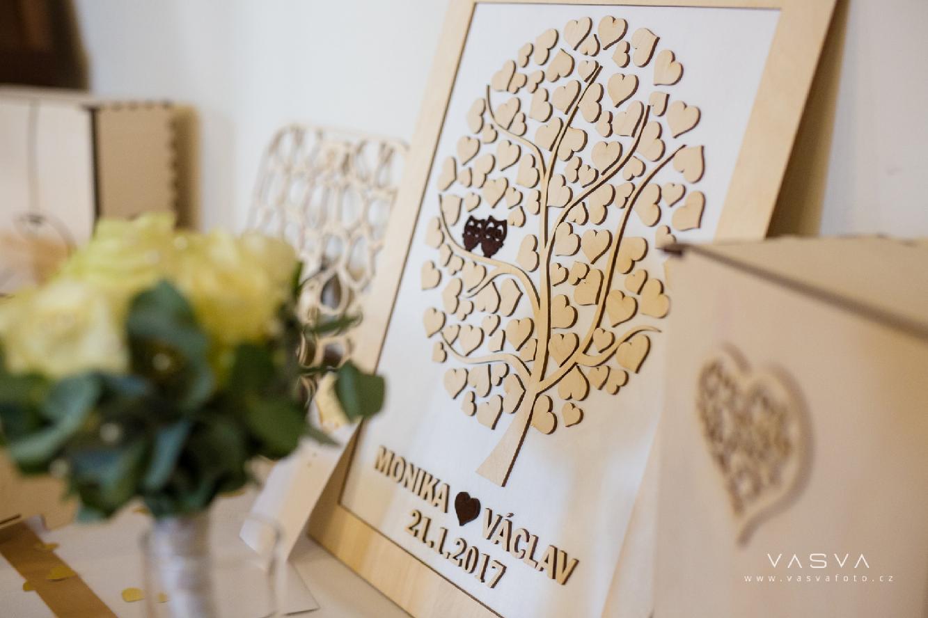 Svatební kniha hostů či svatební strom - Obrázek č. 47