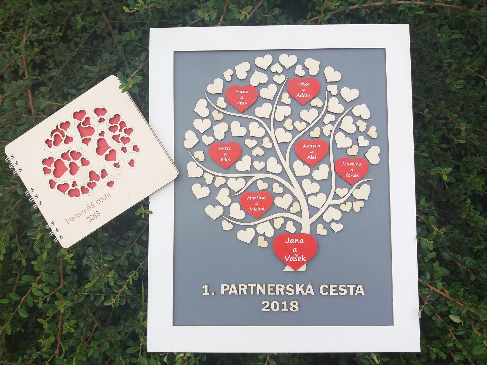 Svatební kniha hostů či svatební strom - Obrázek č. 50