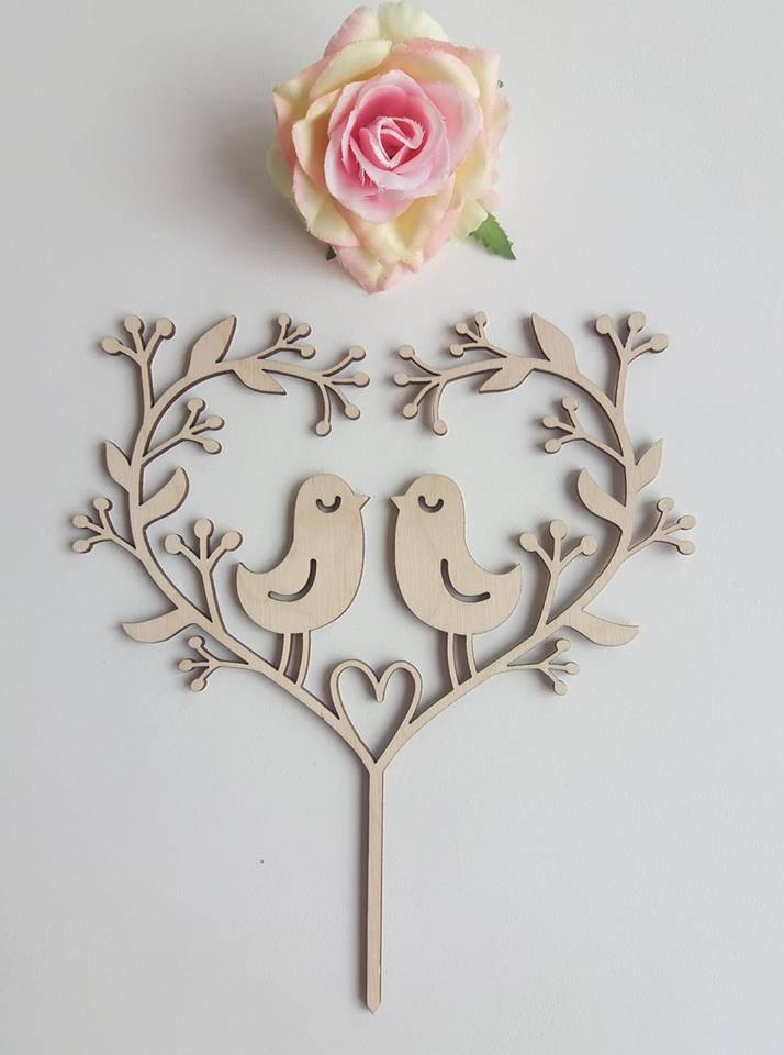 Svatební dárky a dekorace dle představ zákazníků :-) - Dekorace do dortů s motivy na přání