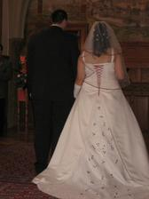 a tady už čekáme na novomanželský slib