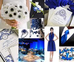 ♛ ♛ ♛ royal blue wedding inspiration - Obrázok č. 9