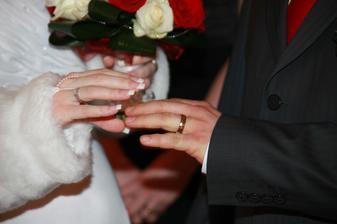 výmena prstienkov :)