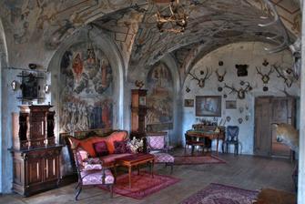 Na zámku Jezeří