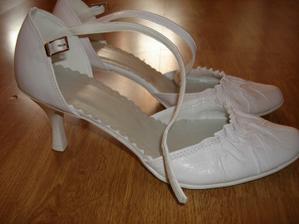 Moje svadobné topanocky...na predaj