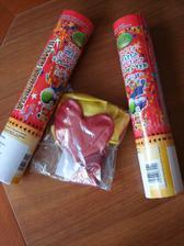 Konfety a baloniky z e-shopu