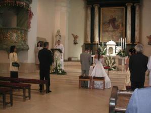 Tuhle fotku jsem si vypůjčila od známých. Jen pro ukázku, kde budeme mít svtébku my. Je to kostel Sv.Vavřince v Hodoníně.