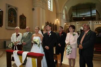 Tréma před manželským slibem.