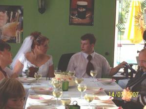 svatební oběd
