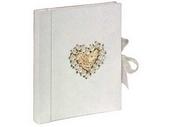 Nasé svatebnim fotoalbum...z rucniho papiru, stejne jako budou oznameni...