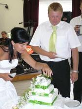 svatební dort:-)