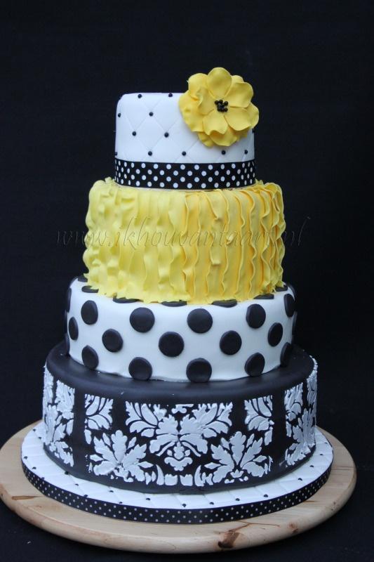 Cierno bielo zlta svadba :-) - Obrázok č. 10
