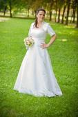 svadobné šaty vel. 40 až 44, 42