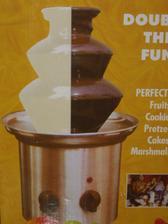 Čokofontánka nesmí chybět, už  stačí jen koupit čokoládu ;-)
