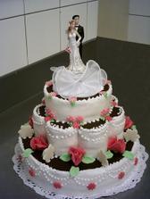 nas svatebni dort:)